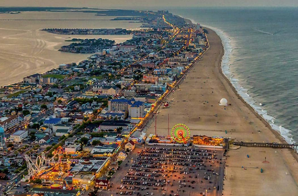 Ocean City Maryland View from Above