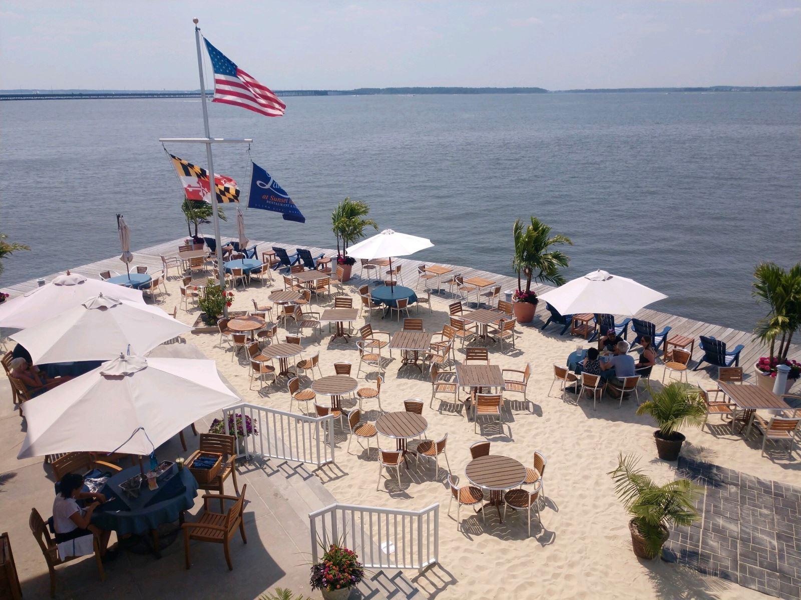 Sunset Island Restaurants Maryland