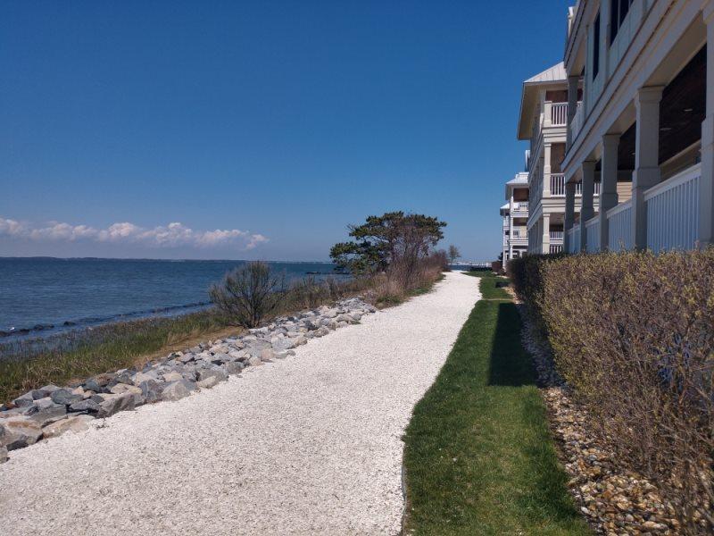 Sunset Island MD Bike Path Along Oceanfront